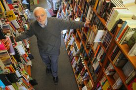 Jeff Mayersohn, a retired tech executive, bought the Harvard Book Store in Cambridge with his wife in 2008. He said owning a bookstore is a lot of work.
