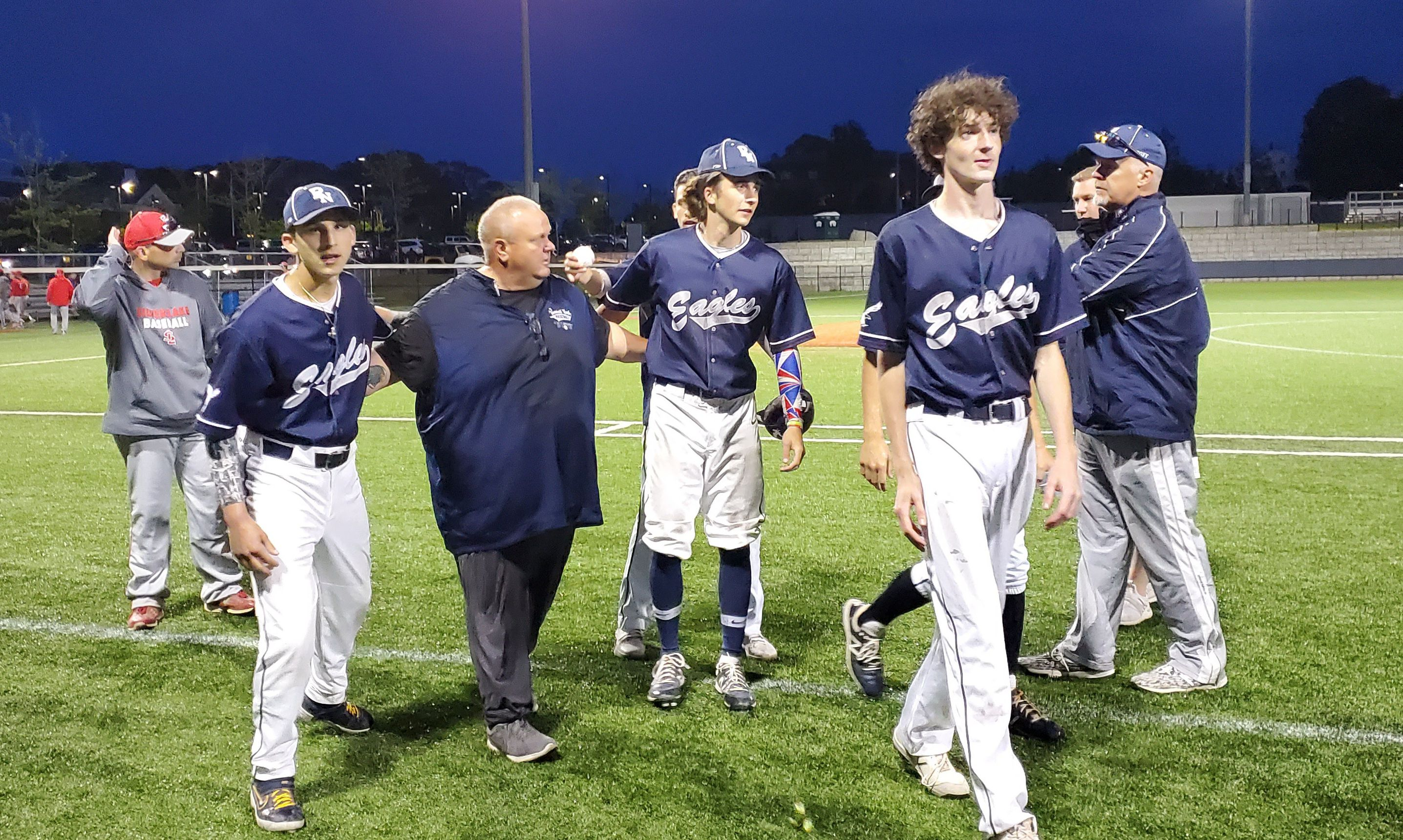 Plymouth North Baseball Delivers Coach Dwayne Follette His 400th Career Win The Boston Globe
