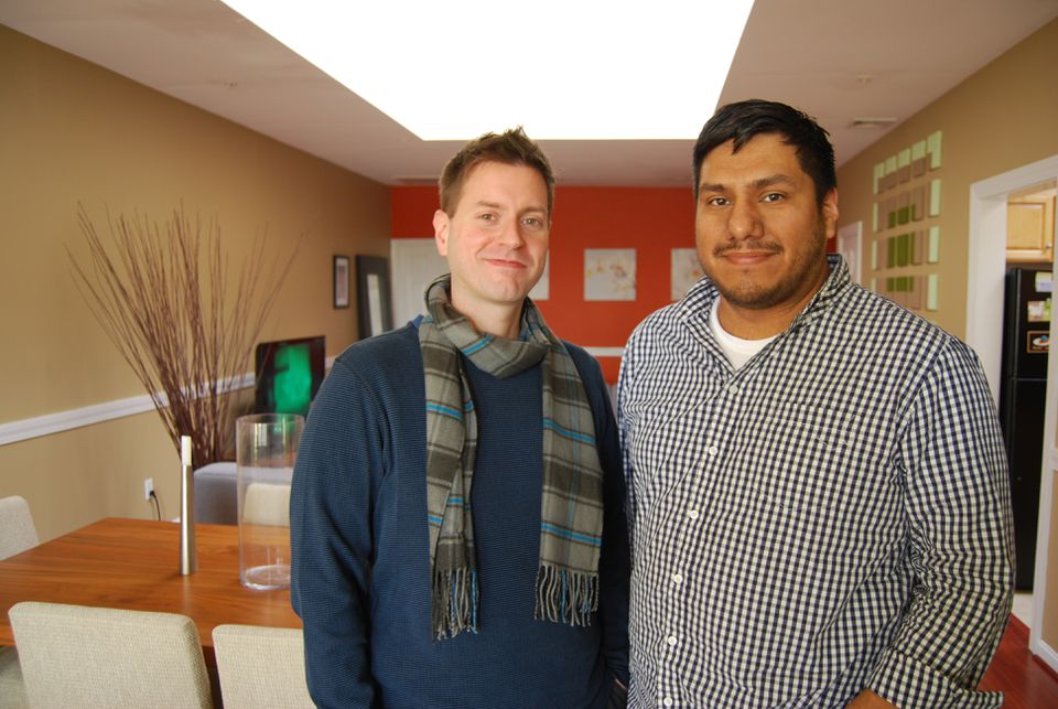 Kevin Sampson and Mario Hernandez bought a condo in downtown Lynn six years ago.