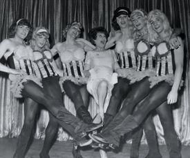 Songstress Ethel Merman in 1966.