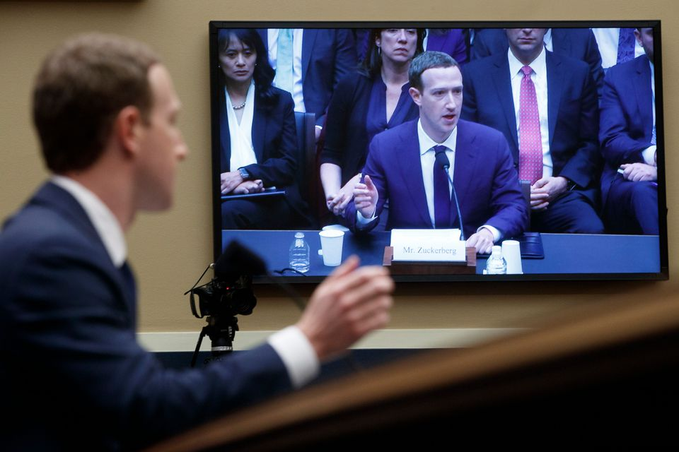 Facebook CEO Mark Zuckerberg testified on Capitol Hill before the House of Representatives Energy and Commerce Committee.