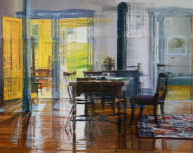 """""""Large Interior"""" by Chris Baker."""