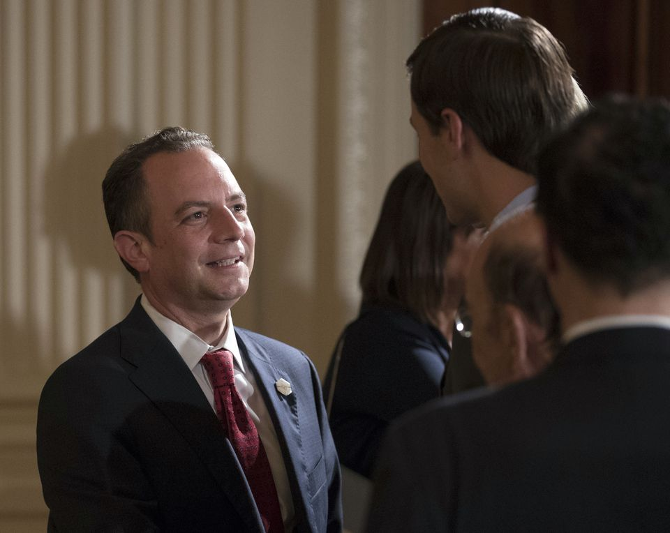 White House chief of staff Reince Priebus.