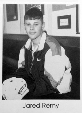 Jared Remy, shown in his 1994-95 yearbook.