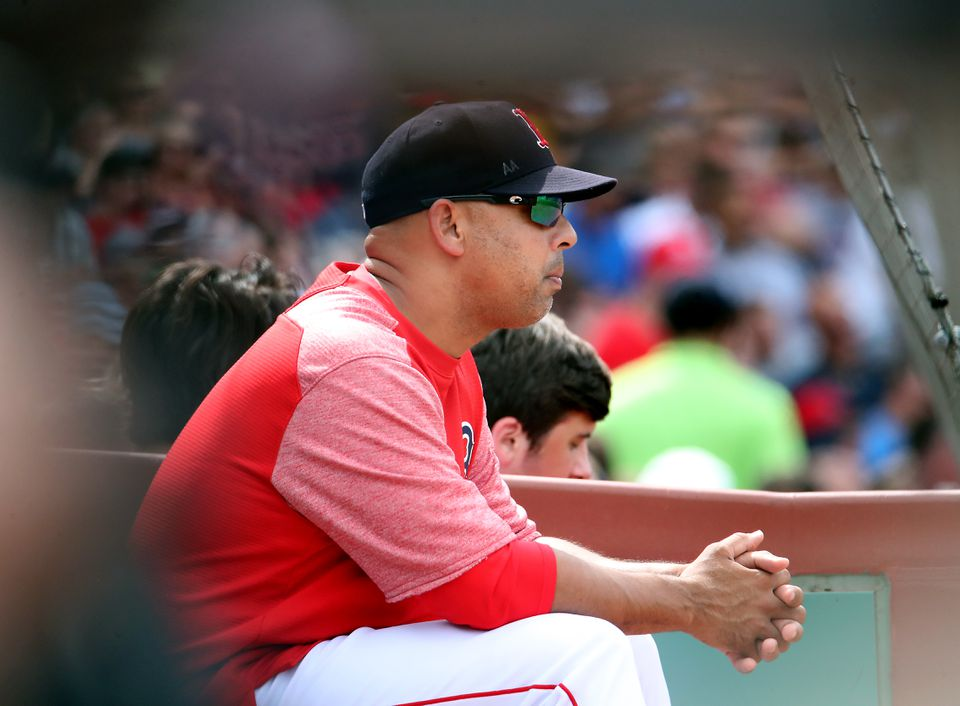 2c89c80163cae Grieving Alex Cora found solace fleeting in Red Sox shutout win ...