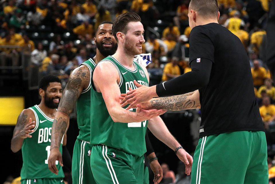 The Celtics now have two road wins in these playoffs, already eclipsing their total (one) from last season.