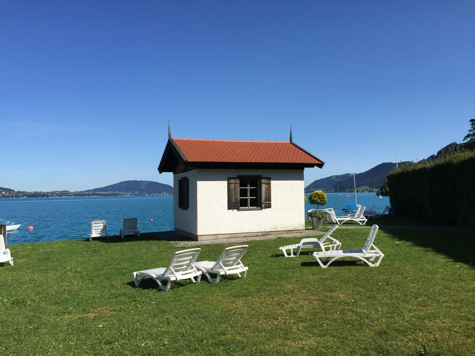 Gustav Mahler's conducting hut in Steinbach Am Attersee.