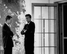As attorney general, Robert F. Kennedy was a confidant of President Kennedy's and oversaw covert operations.