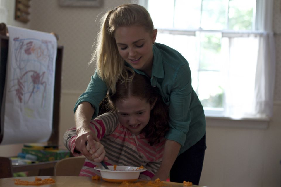 "Taylor Richardson (front) and AnnaSophia Robb in a scene from director Janet Grillo's ""Jack of the Red Hearts."""