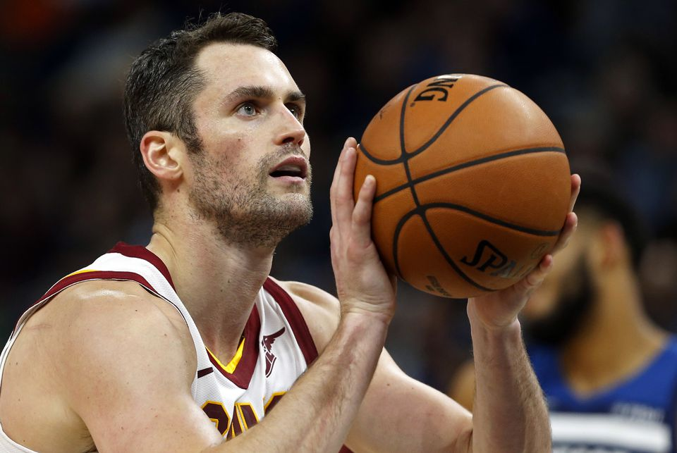 174670fcb Kevin Love of the Cavaliers felt the pressure of having to win in Cleveland.