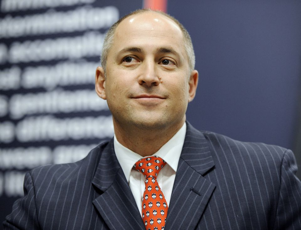 David Benedict was introduced as UConn's athletic director in March.