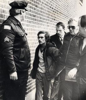 Victor Rosario was led into court in Lowell in 1982 after the three-decker fire that killed eight people.