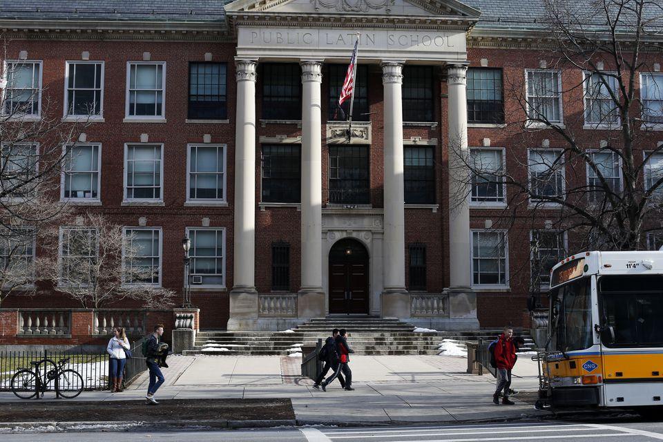 Boston Latin School.