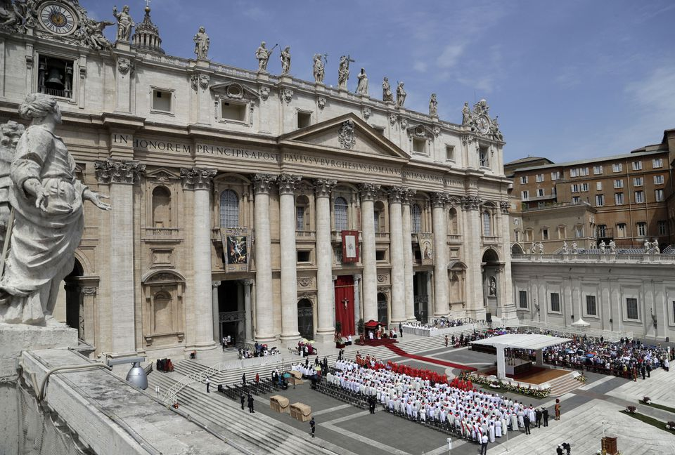 New Vatican document says 'gender ideology' is a 'move away from nature'