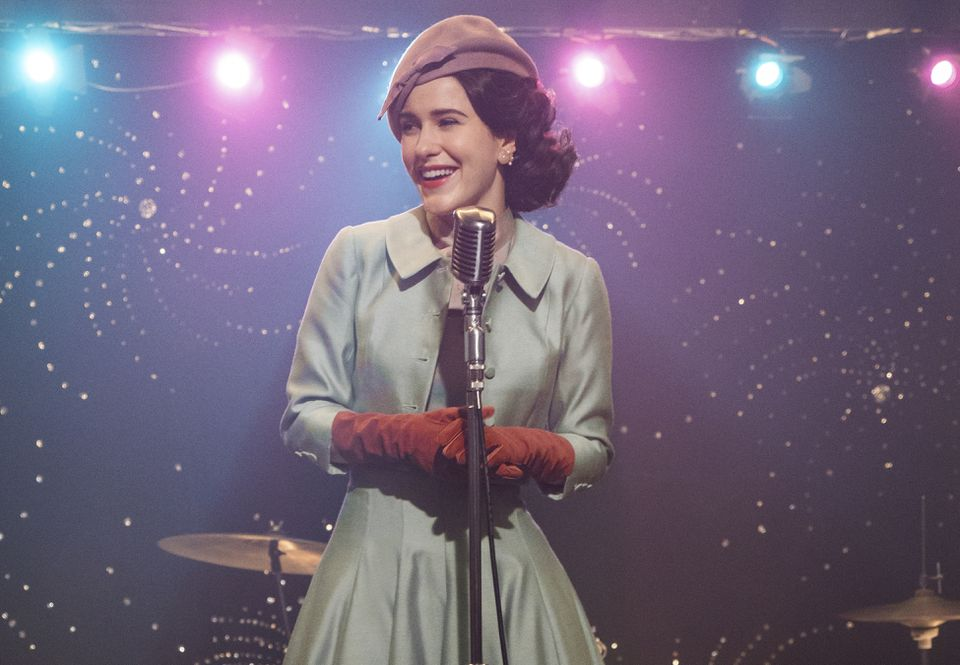 """Rachel Brosnahan stars in """"The Marvelous Mrs. Maisel,"""" which returns to Amazon for its second season."""