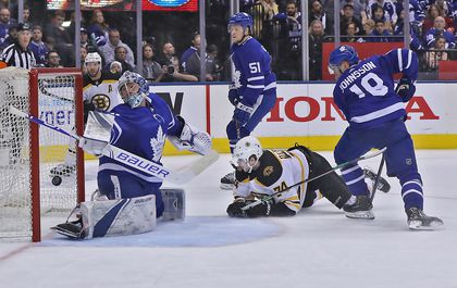 Jake DeBrusk gets the inside scoop — and on the board - The