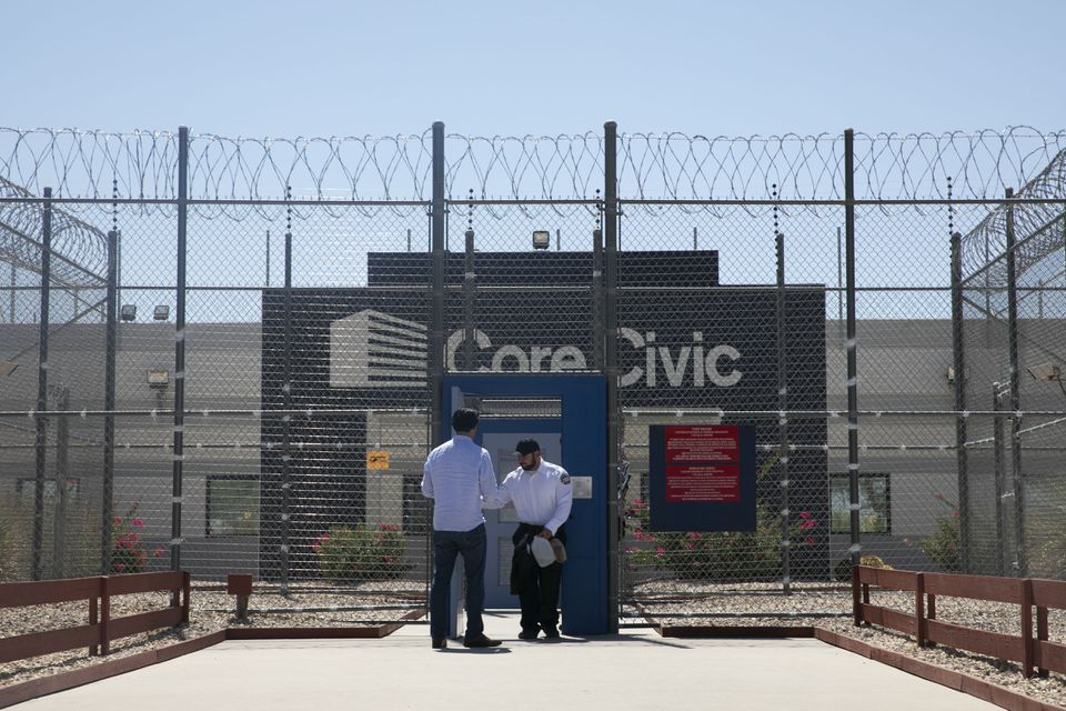 Attorney Jose Xavier Orochena entered the CoreCivic Eloy Detention Center to bond out a client. As new policies greatly expand the number of migrants held in detention, it is becoming clear that some of the players in this billion-dollar industry have strong ties to the Trump administration.