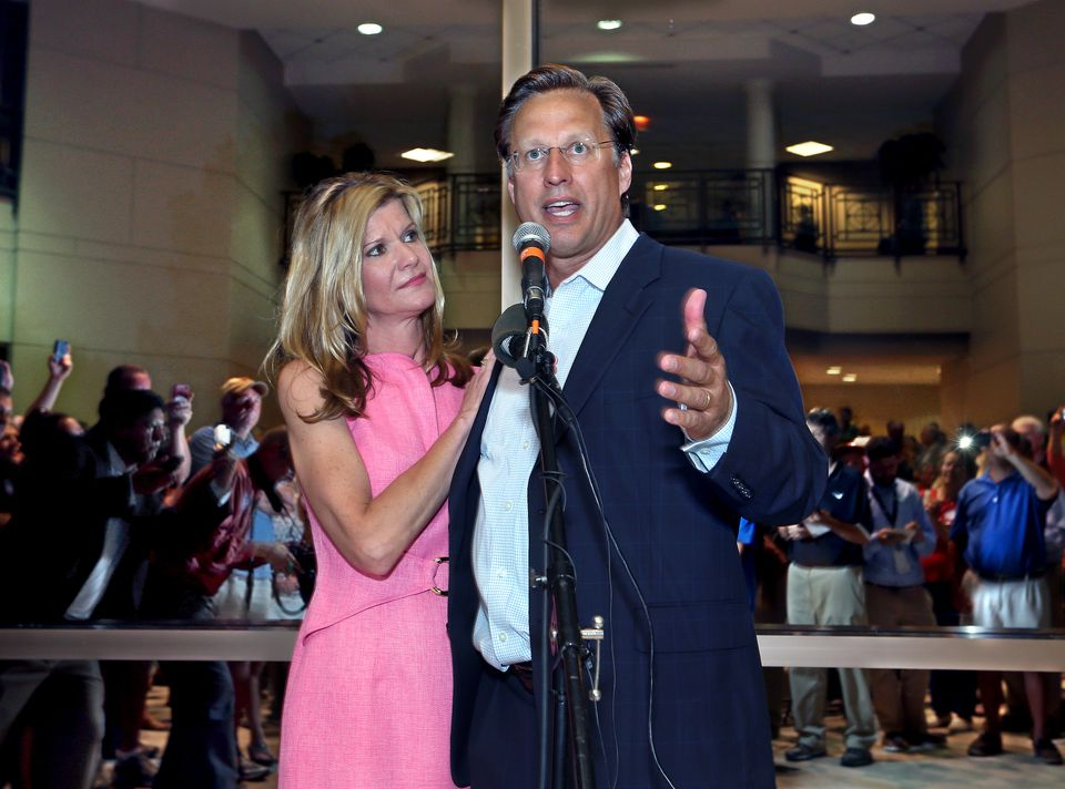 Save My Care says it will target Representative Dave Brat (above), of Virginia, and other lawmakers who voted for the Republican health care bill.