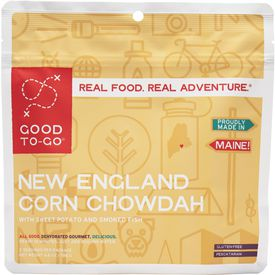 Maine-based Good To-Go's New England Corn Chowdah meal