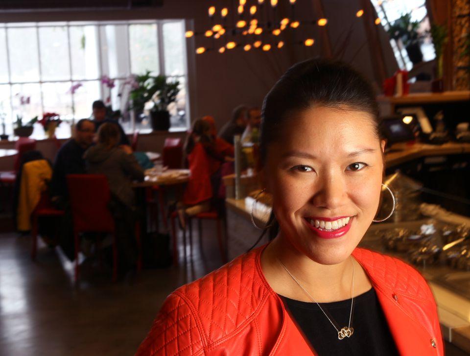 Nadia Liu Spellman in 2015.