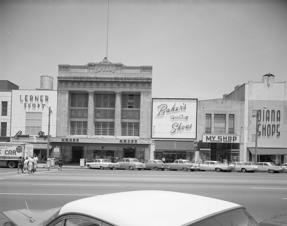 The Kress building on Dexter Avenue in Montgomery, Ala., circa the 1950s-'60s.