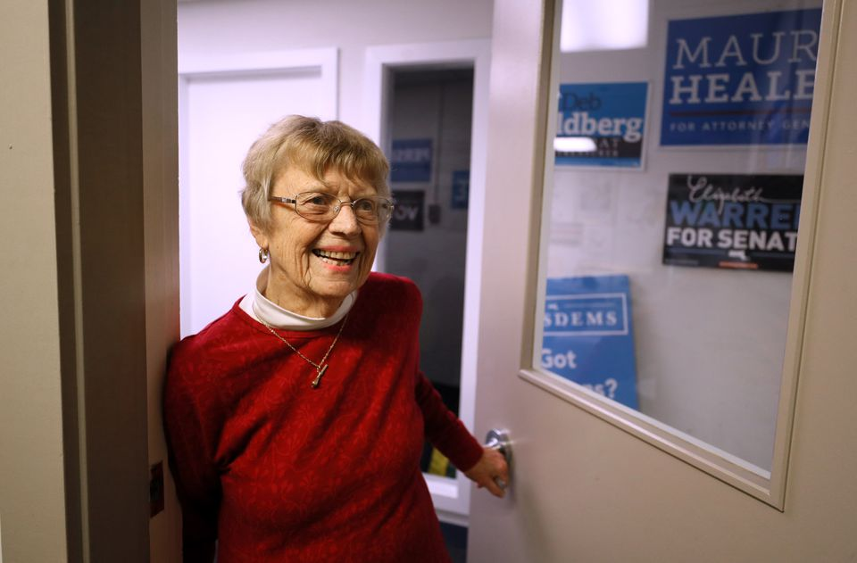 Jean Moulton is leaving her role as special assistant to the chairman of the Massachusetts Democratic Party.