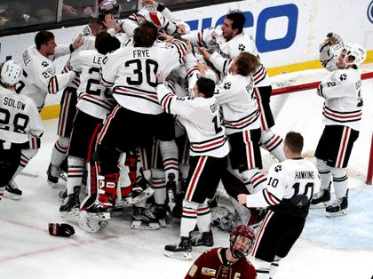 Northeastern wins Hockey East title - The Boston Globe