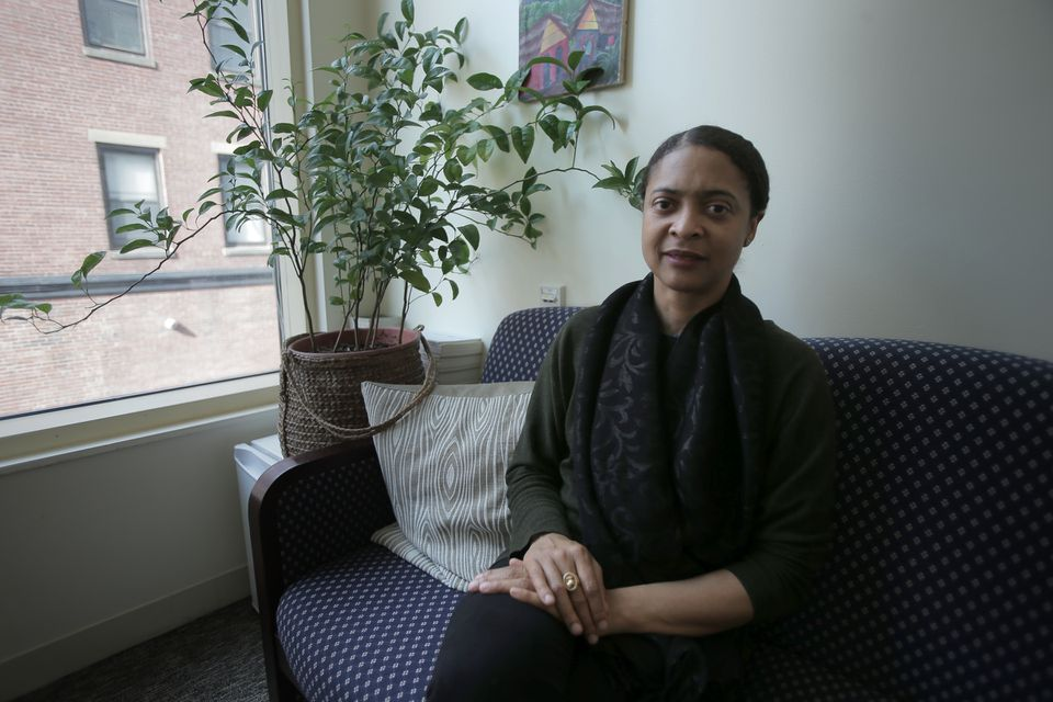 """Some people love poetry and use poetry and are comfortable with poetry. But there are those for whom poetry may be a giant living in the hills. It's out there,"" said Danielle Legros Georges."