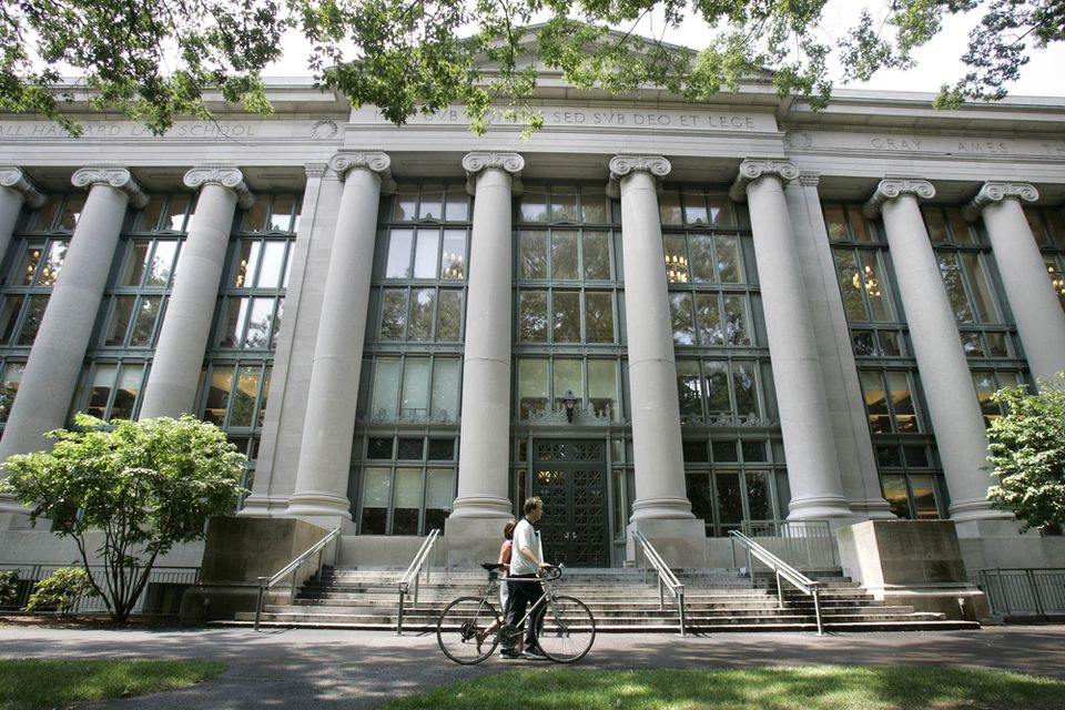 The Harvard Law Library.
