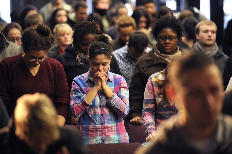 Ministry students took part in a morning service at Haverhill's Northpoint Bible College, which changed its name from Zion .