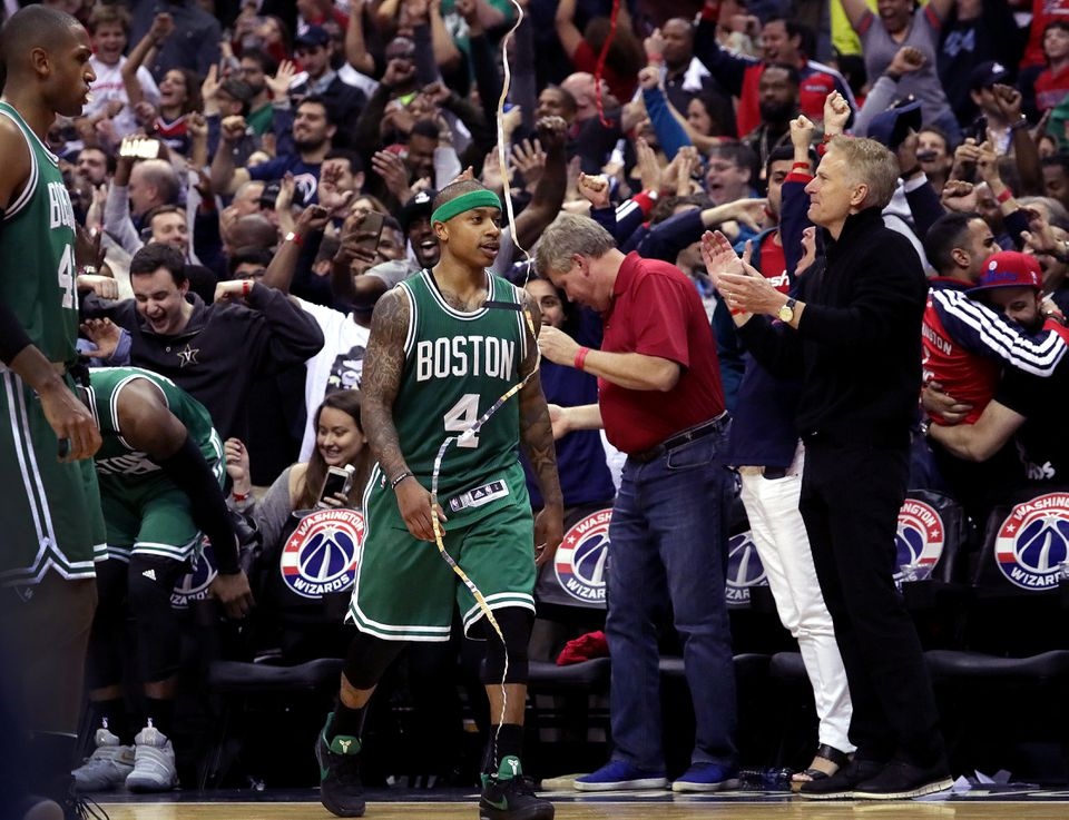 Isaiah Thomas alone won't send the Celtics into the conference finals. He will need help.