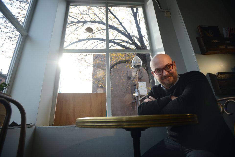 Playwright Robert Askins
