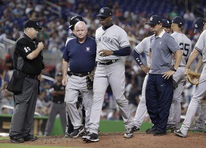 28248d5cc Yankees place Aroldis Chapman on 10-day disabled list - The Boston Globe