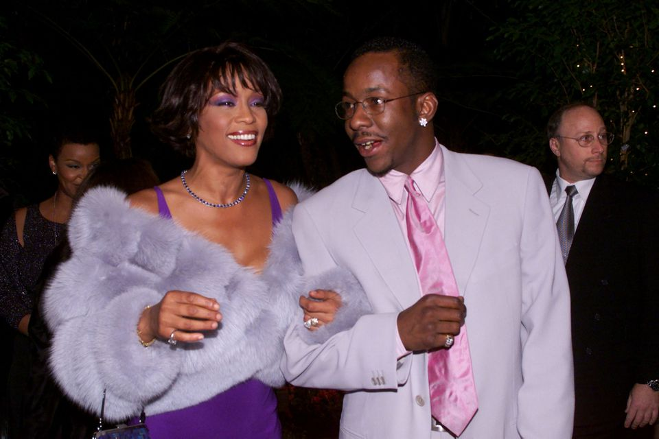 Whitney Houston and Bobby Brown in 2000.