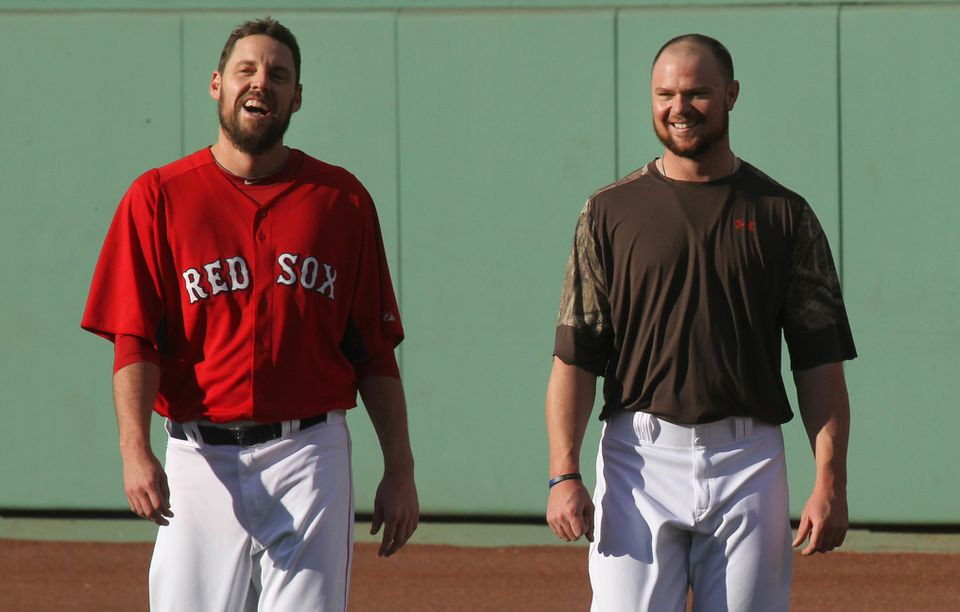 Once teammates with the Red Sox, John Lackey and Jon Lester will face off in the Game 1 of the NLDS between the St. Louis Cardinals and Chicago Cubs.