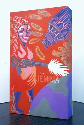 "Joe Overstreet's ""The New Jemima."""