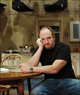Louis C.K. serves up a family comedy with a real-life edge on Lucky Louie, which will be HBO's first traditional sitcom.