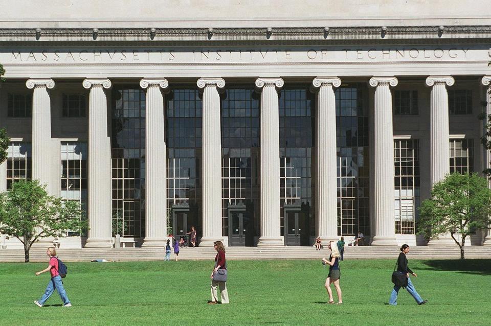 MIT's campus.