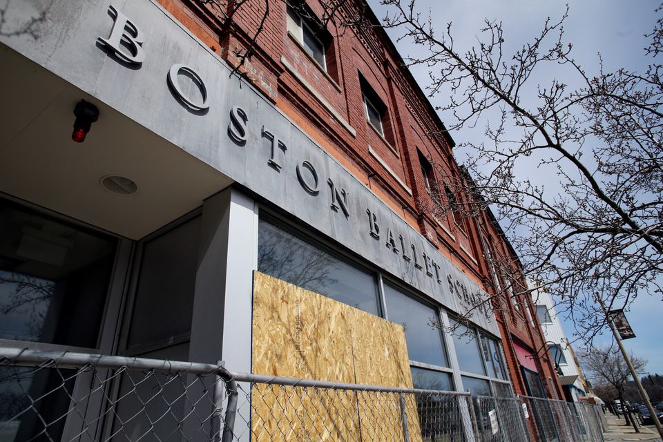 Developers began this month to demolish pieces of the old Orr block in Newtonville, where kids once practiced pirouettes at the Boston Ballet School.