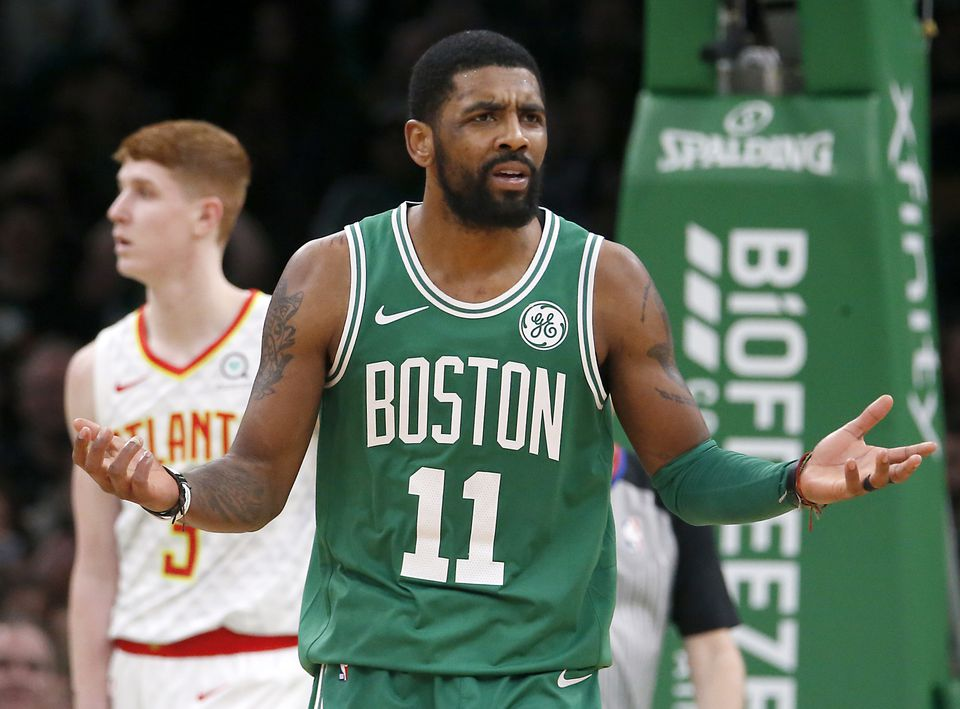Kyrie Irving has used the young guys as fall guys for the team's struggles.