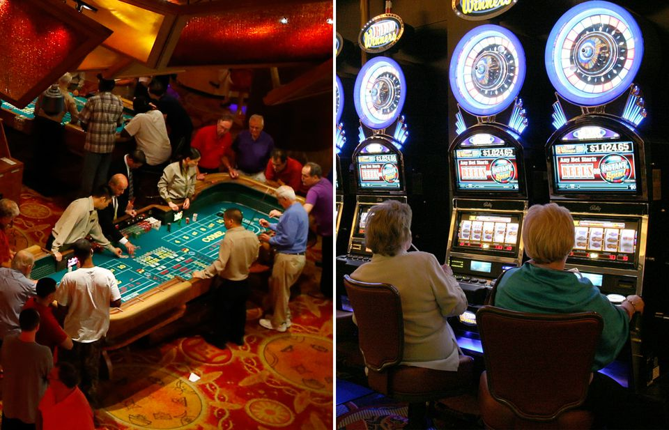 Mohegan Sun, left, and Foxwoods casino both have a lot to offer.