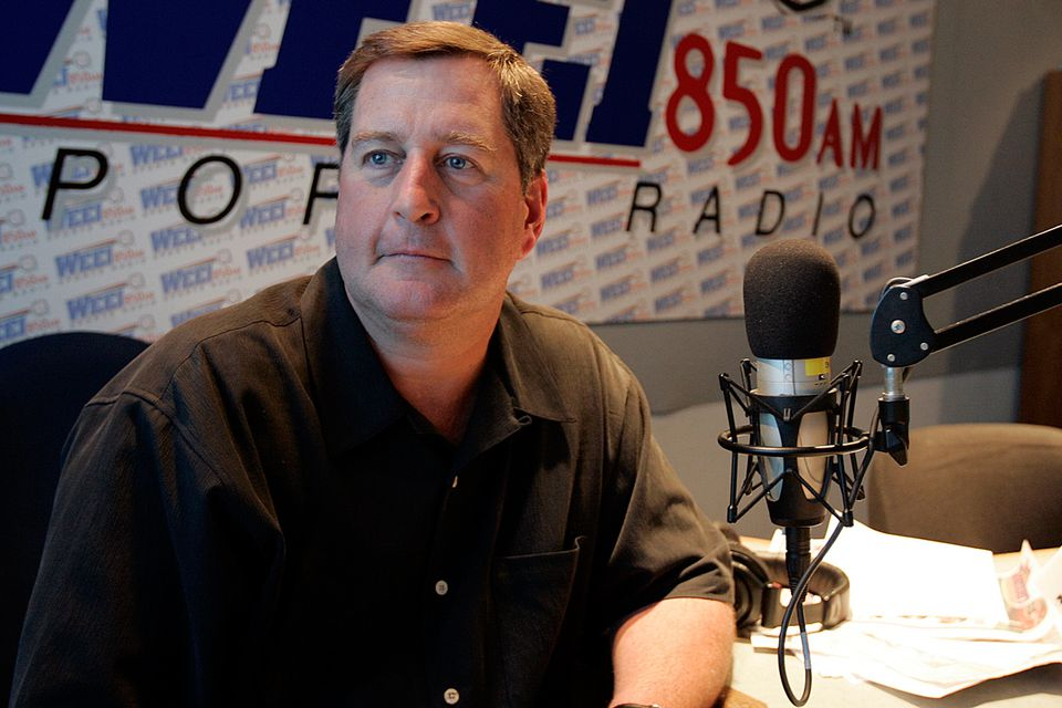 """John Dennis has been a co-host of the successful """"Dennis and Callahan Show"""" since 1997."""