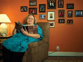 """Louie Anderson as Christine Baskets in """"Baskets."""""""