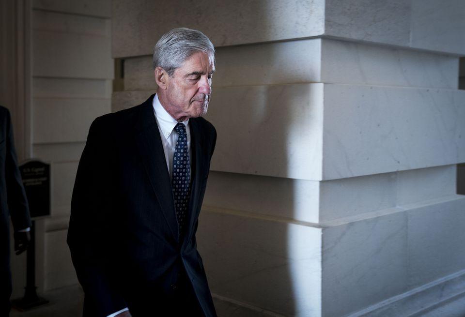 Special counsel Robert Mueller.