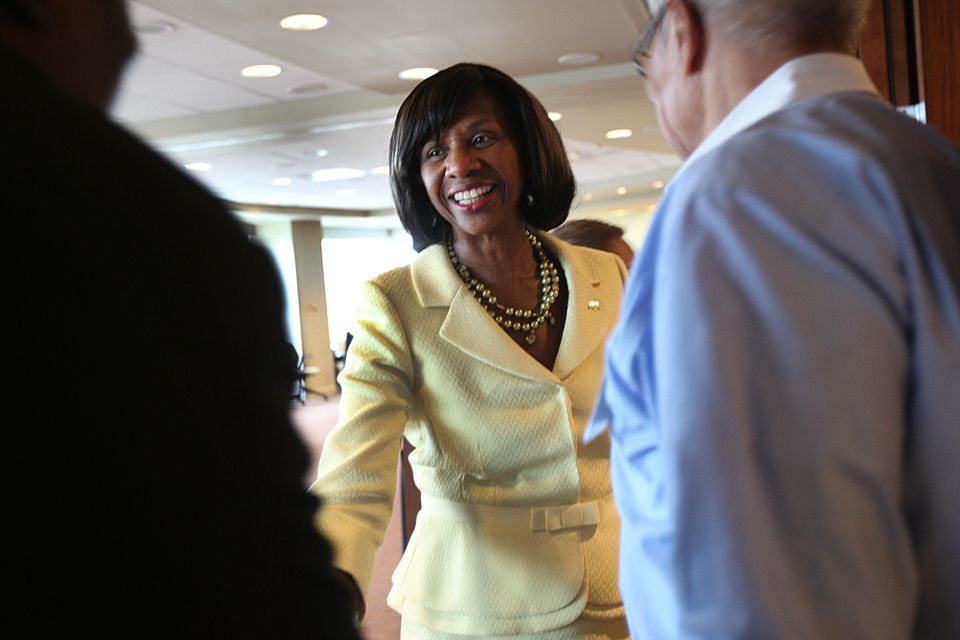 Paulette Brown has pressed law firms to hire and promote more women and minorities.
