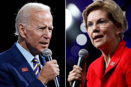 Elizabeth Warren circles in Iowa as Joe Biden stumbles - The Boston