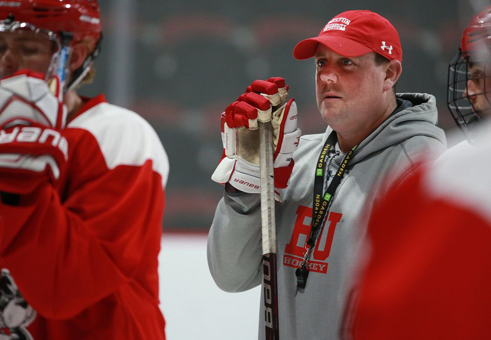Albie O'Connell played four years at BU and was an assistant there for four more.