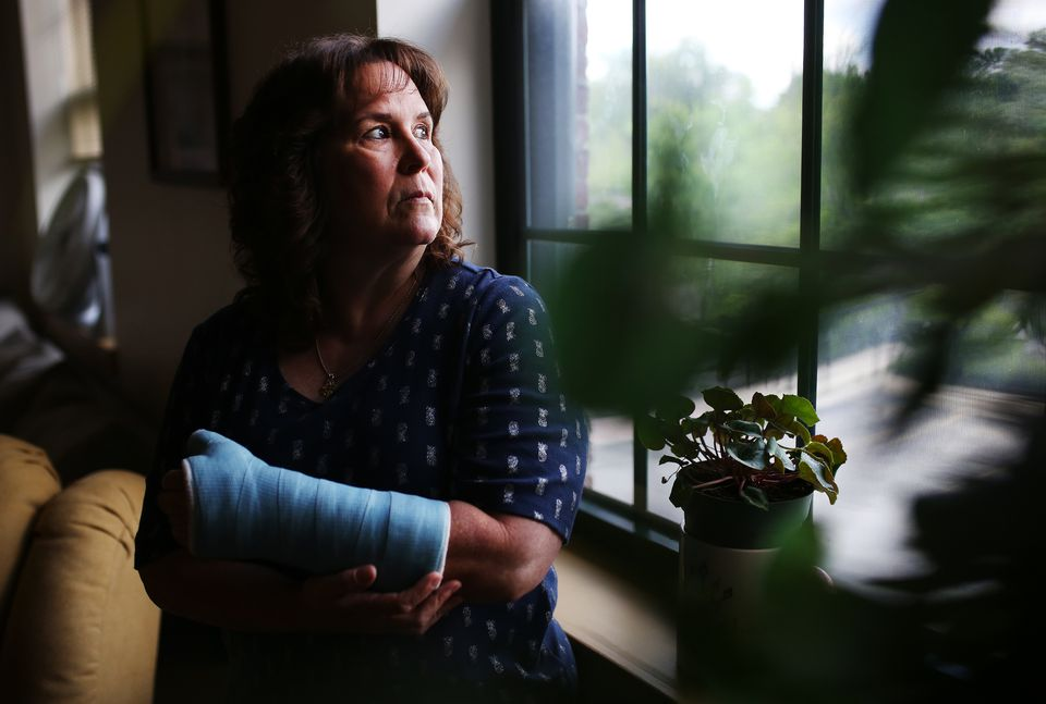 Bernadette Coughlin fell and broke her wrist while at work and was required to take a drug test. Her occasional recreational marijuana use led to a positive result, and the loss of her job.