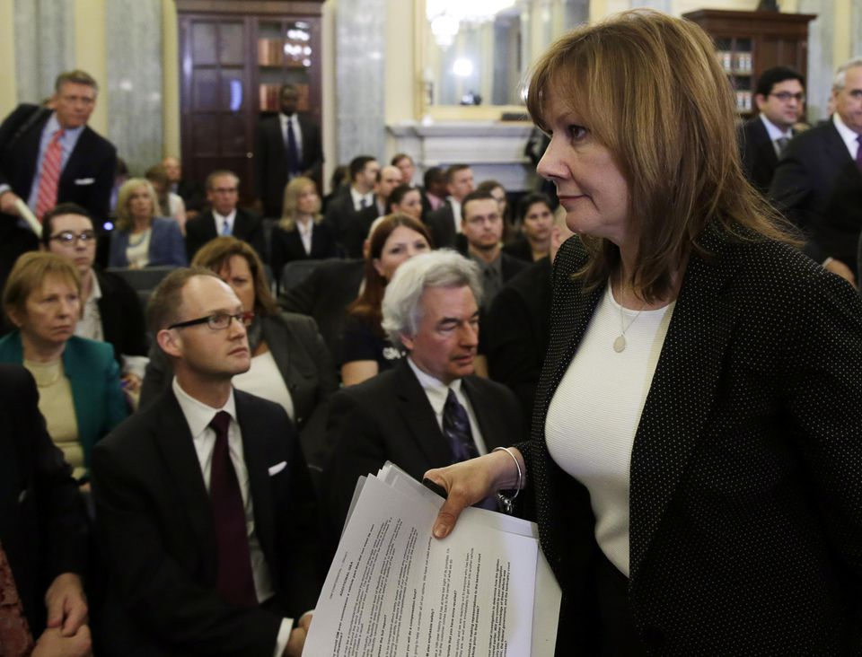 General Motors CEO Mary Barra gave her testimony before the Senate Commerce and Transportation Consumer Protection, Product Safety and Insurance subcommittee.