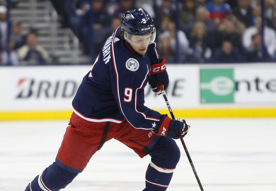 Artemi Panarin's days in Columbus appear numbered.